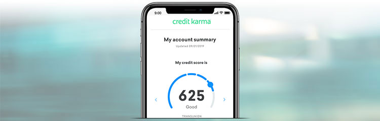 Credit Karma App Being Used Banner Image